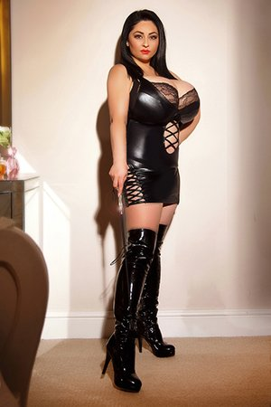 Busty Brunette London Escort Girl