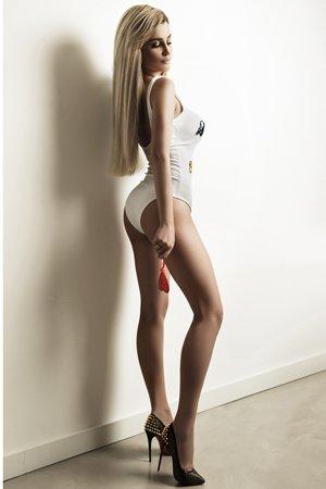 Blonde London Escort Girl