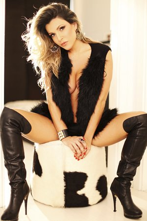 Bisexual Blonde Brazilian Escort Girl