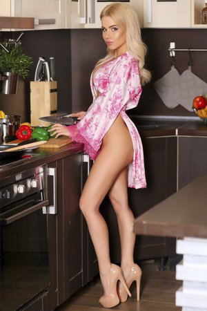 Elite Blonde Russian Escort Girl