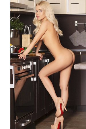 Slim Blonde Escort Girl in London