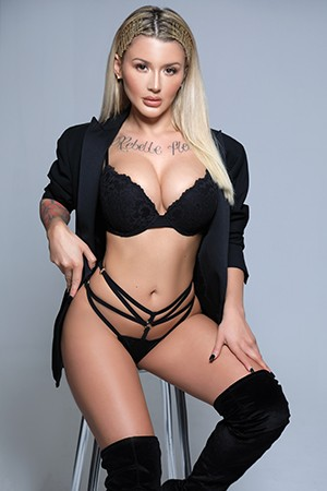 Blonde Anal London Escort