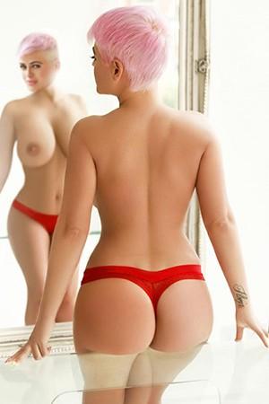 Pink Blonde Anal Escort in London