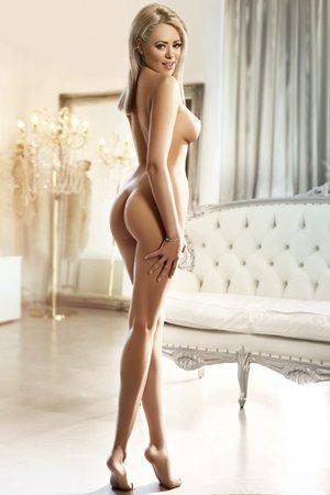 Slim Blonde Escort Girl in London