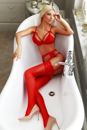 Fetish BDSM Blonde Escort Girl
