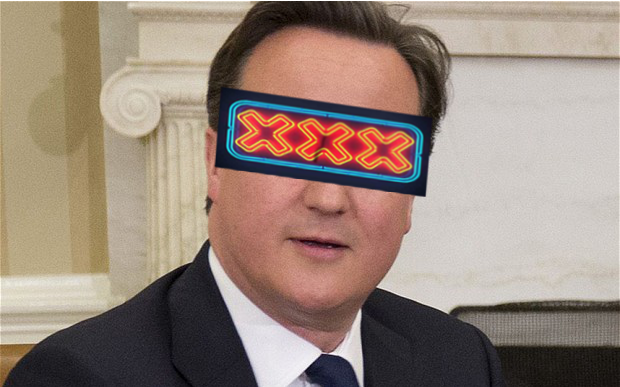 David Cameron Porn On the Internet Ban
